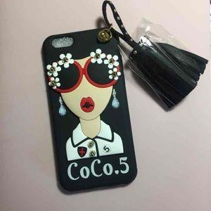 Accessories - Coco #5 iPhone 7+/8+ Case